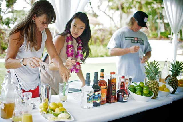 "Ka'anapali Fresh ""The Artful Creation of Organic Infused Cocktails"""